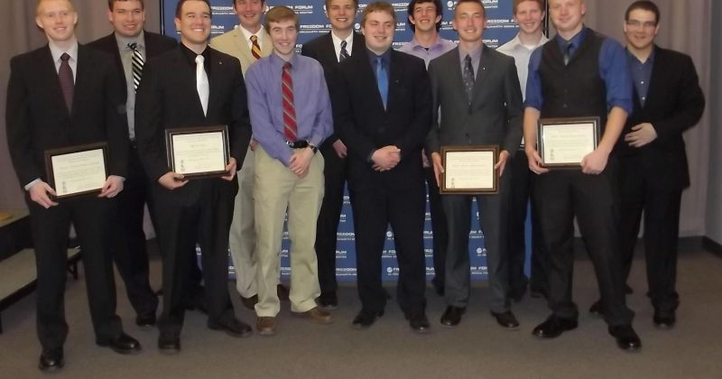 Congratulations to the 2014 Founders' Men!